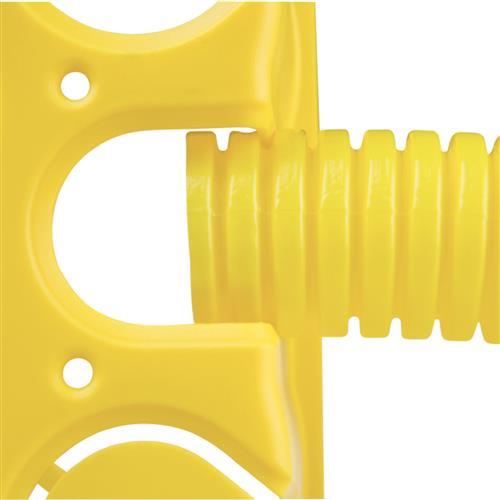 Caixa de Luz 4x4 Retangular Amarela Tramontina