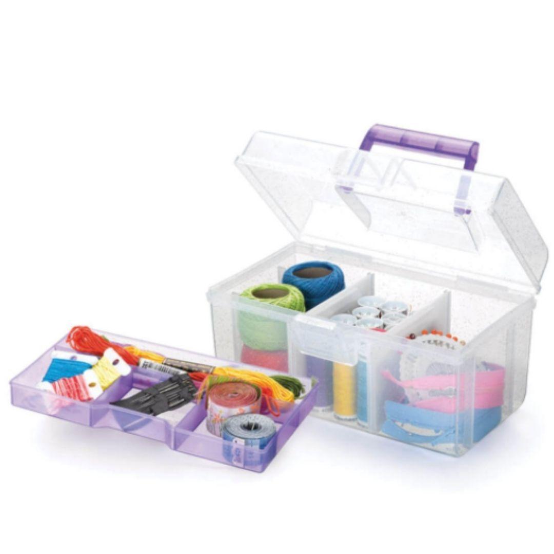 Caixa Organizadora Cristal com Divisórias Nitron