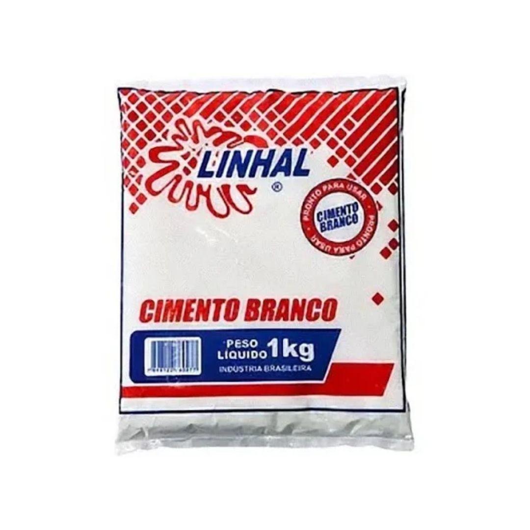 Cimento Branco 1kg Linhal