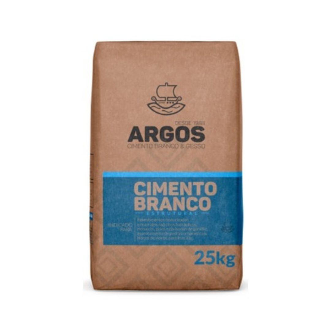 Cimento Branco Estrutural 25kg Argos