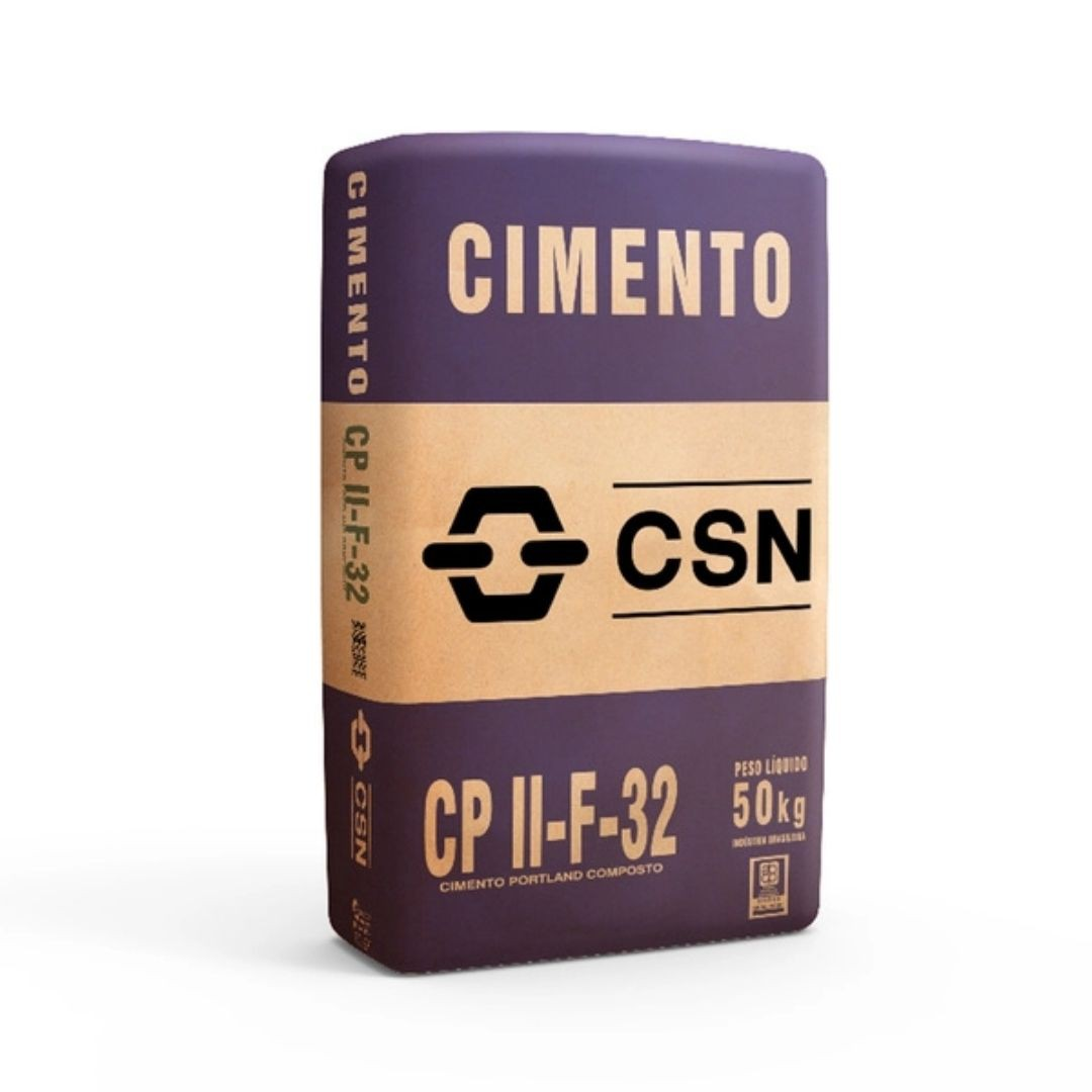 Cimento CSN CPII F-32 50kg