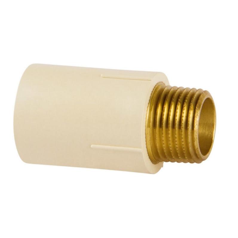Conector LR Super CPVC 22 X 3/4 Amanco