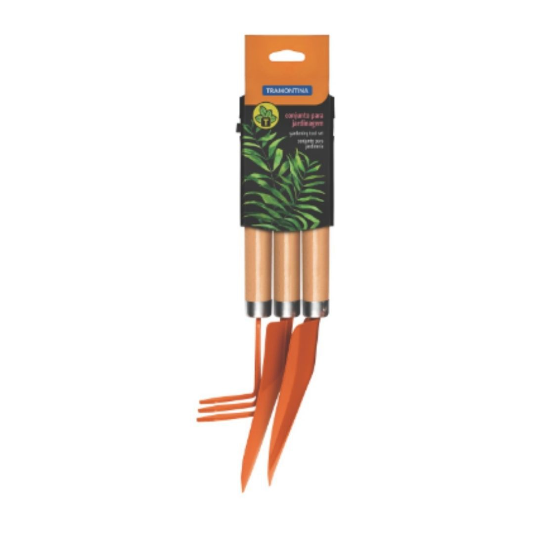 Conjunto Para Jardinagem 3 peças 78102/801 Tramontina
