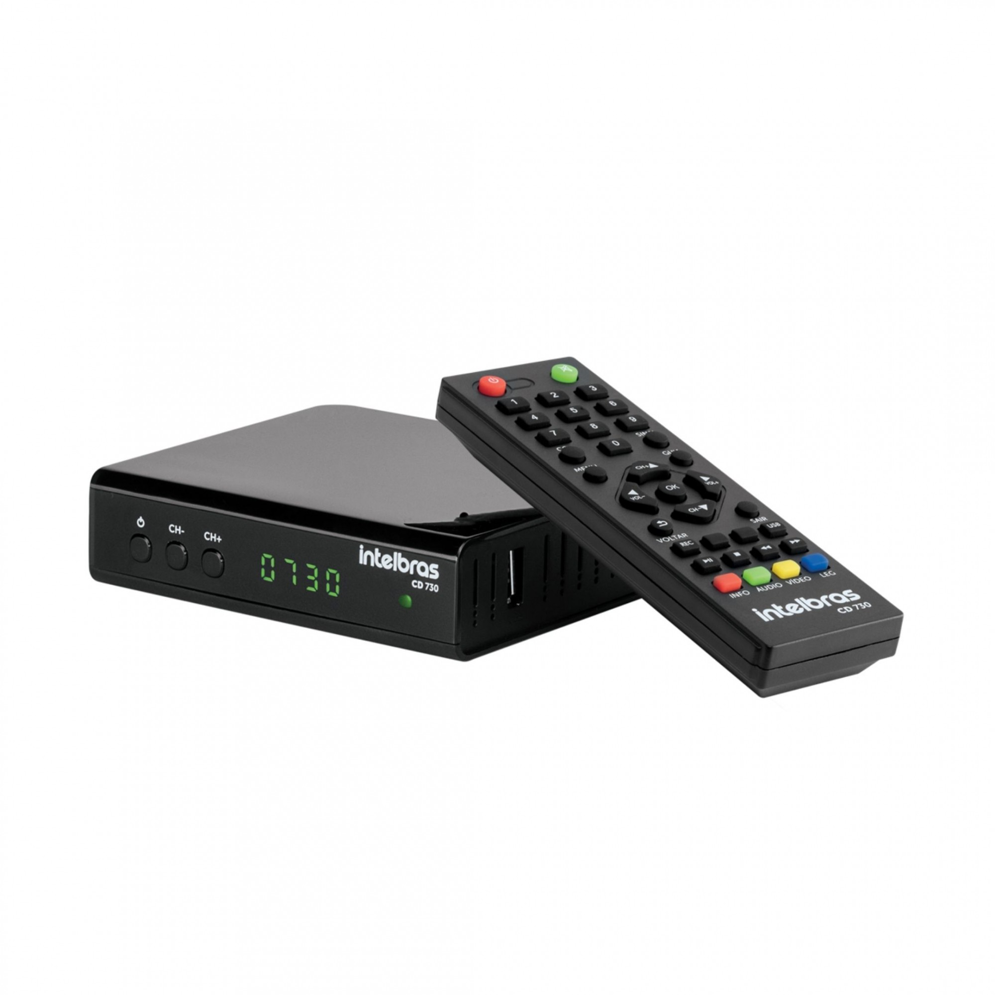Conversor e Gravador Digital Para Tv CD 730 Intelbras