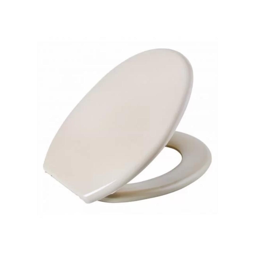 Assento Sanitário Almofadado Universal Oval Bege Astra