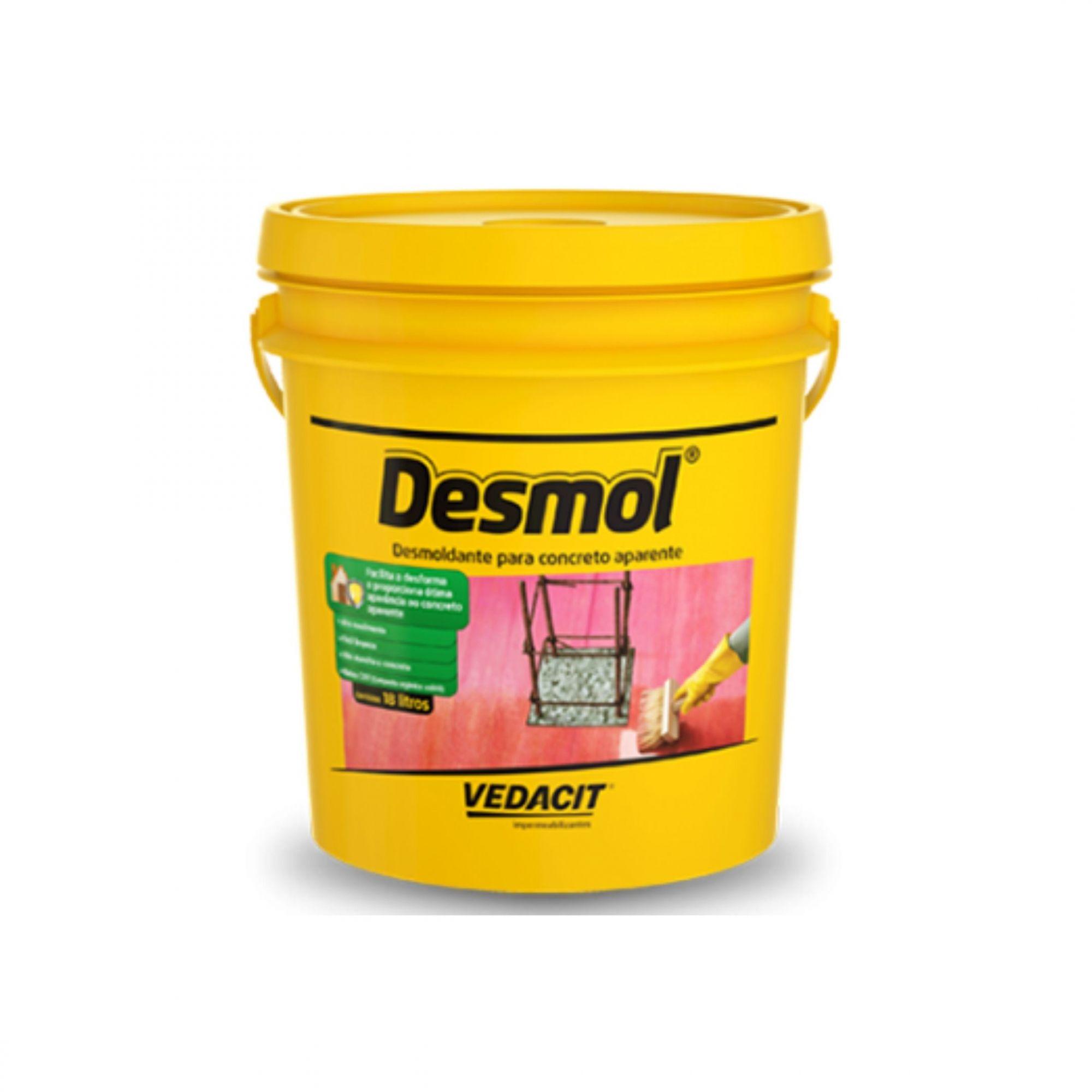 Desmoldante Para Concreto Desmol 3,6 Litros Vedacit