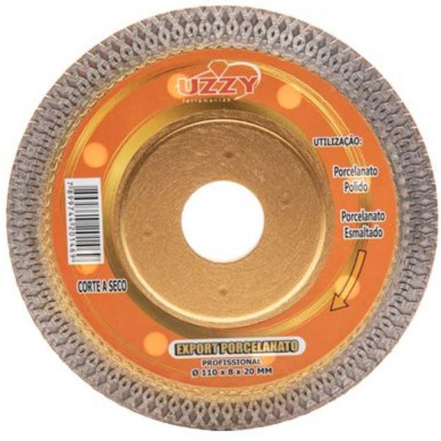 Disco de Corte Export Porcelanato 110x10x20mm Uzzy