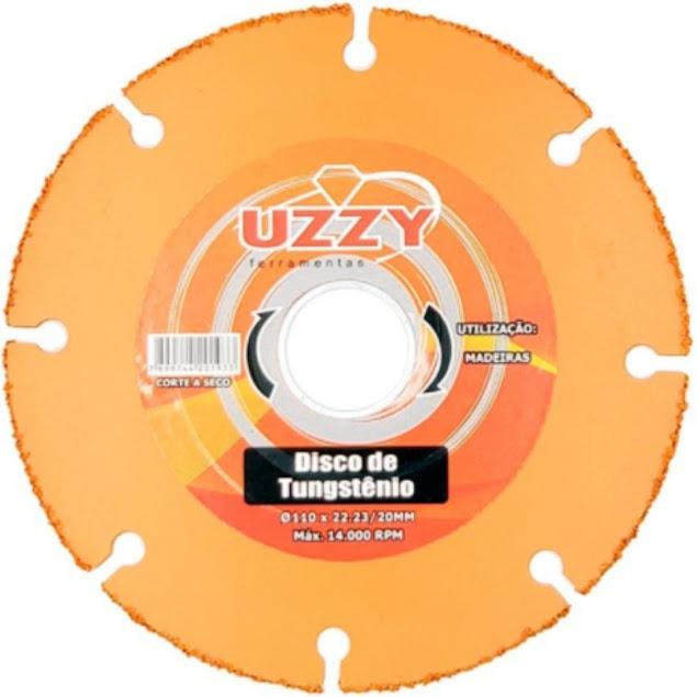 Disco de Corte para Madeira Tungstenio 110x22,23x20mm Uzzy