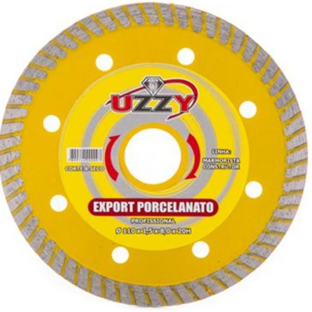 Disco de Corte Porcelanato 106x10x20mm Uzzy