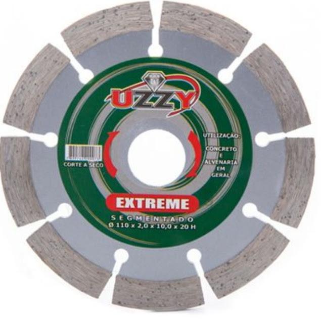 Disco de Corte Segmentado Extreme 110x10x20mm Uzzy