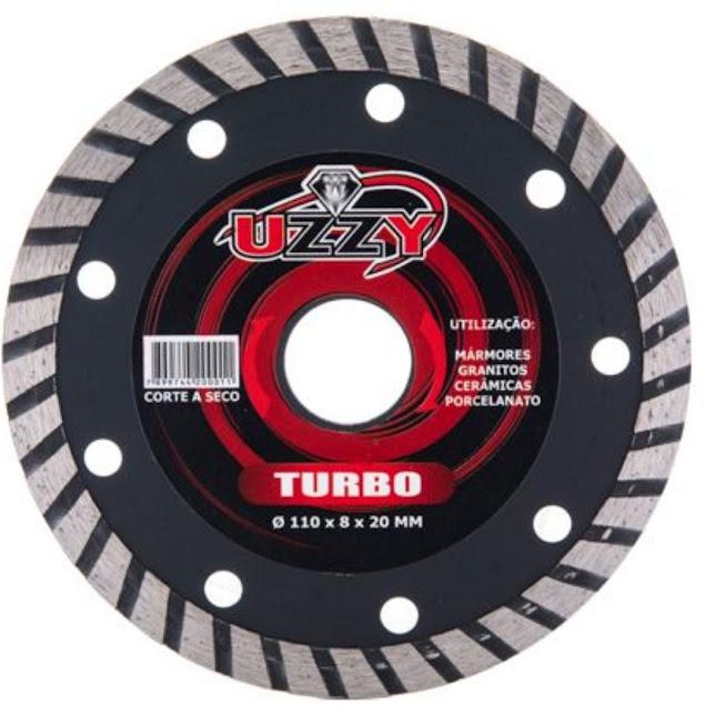 Disco de Corte Turbo 110x8x20mm Uzzy