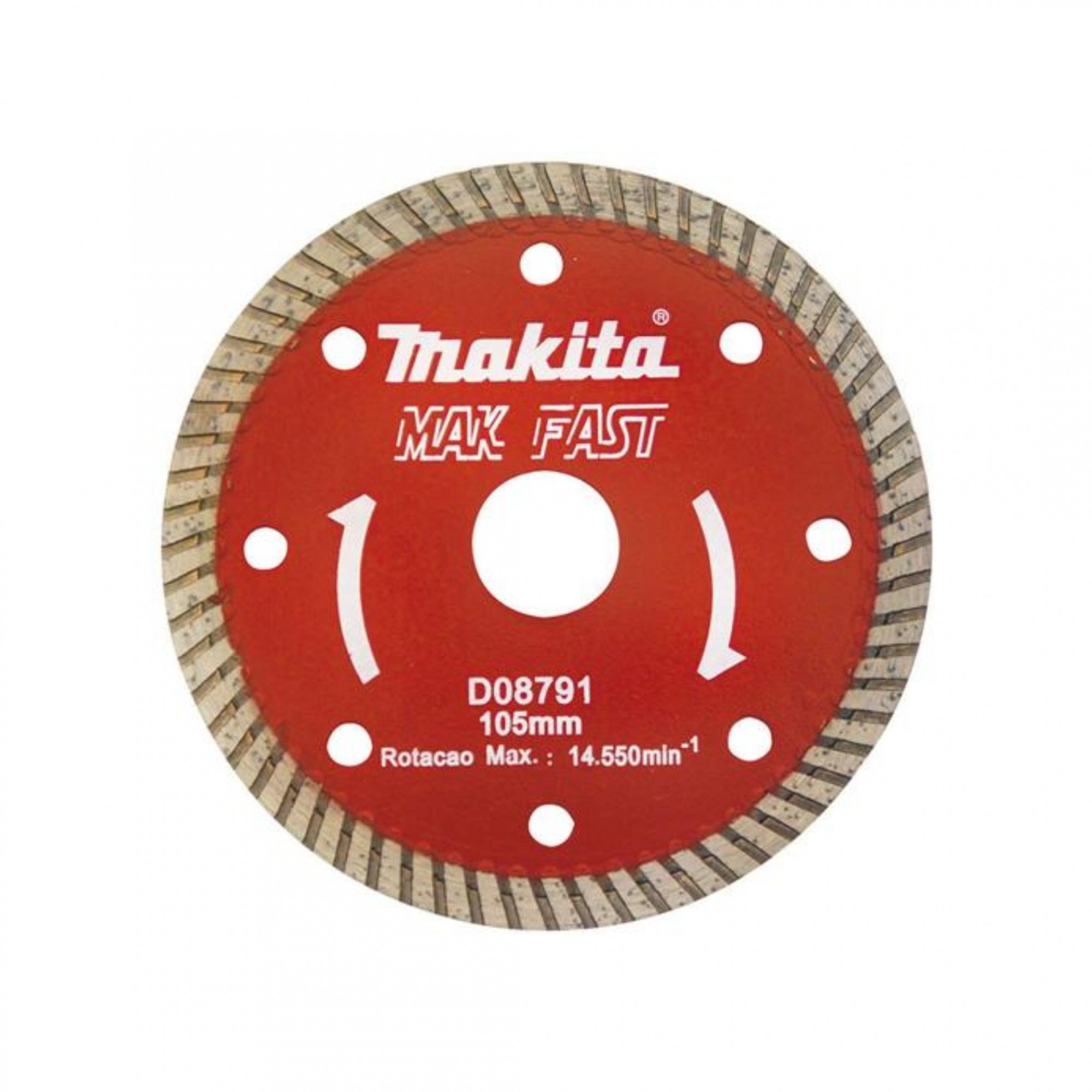 Disco Diamantado Mak Fast 105mm D08781 Makita