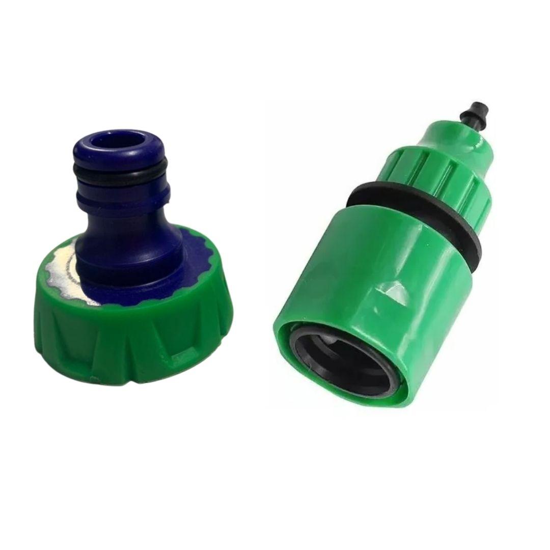 Kit Engate Rápido + Conector de Torneira Para Micro aspersor