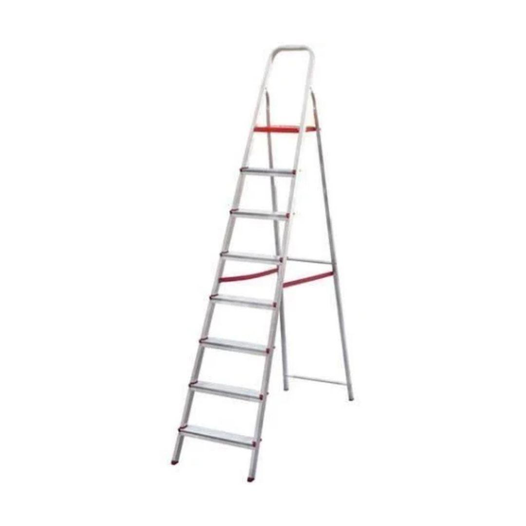 Escada de Alumínio Domestica 8 Degraus Dobrável Reisam