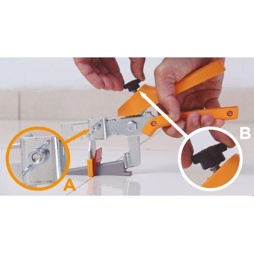 Espaçador Nivelador de Piso 1,5mm 50 und Eco Cortag