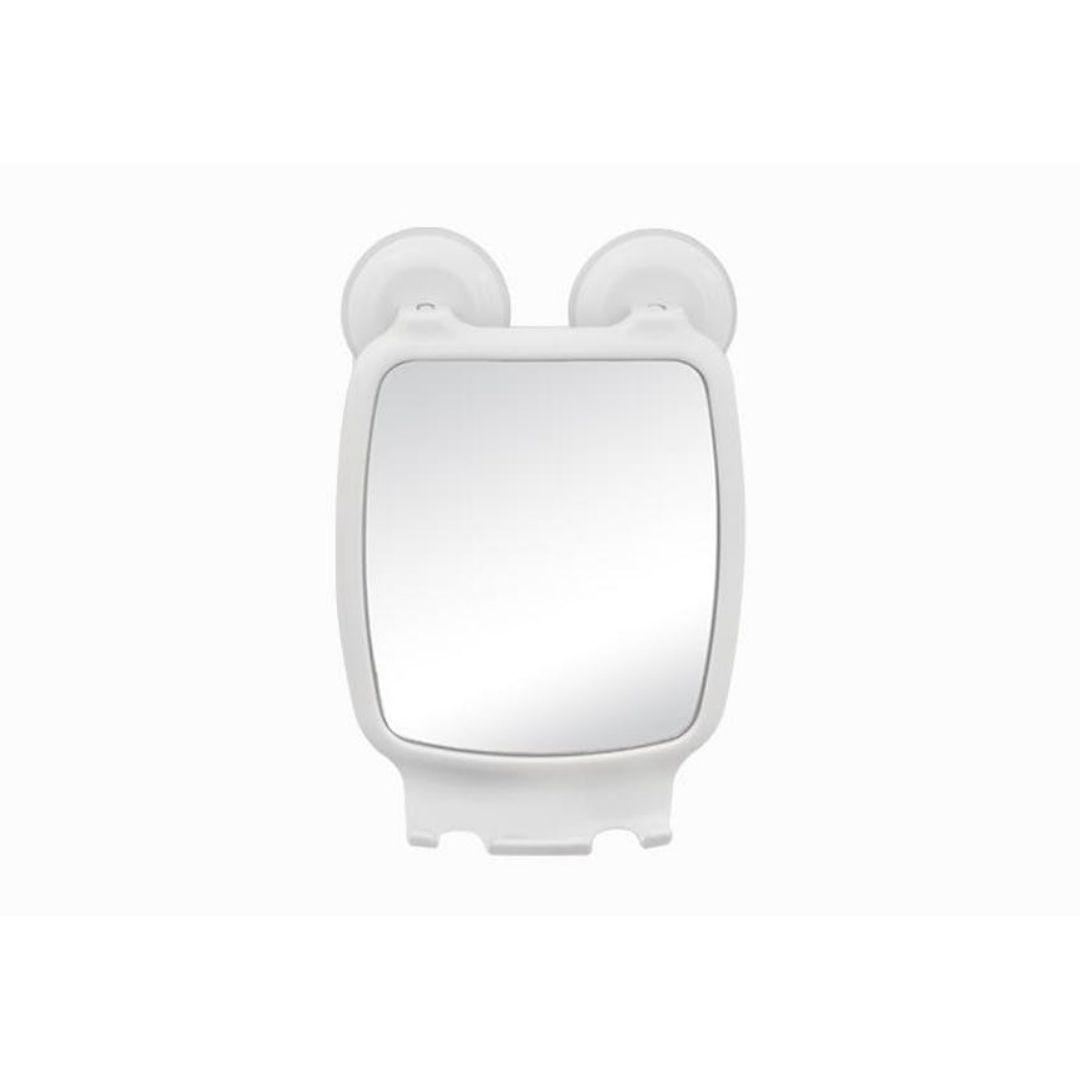 Espelho com Ventosa Branco Ref: AI 08-16 Astra