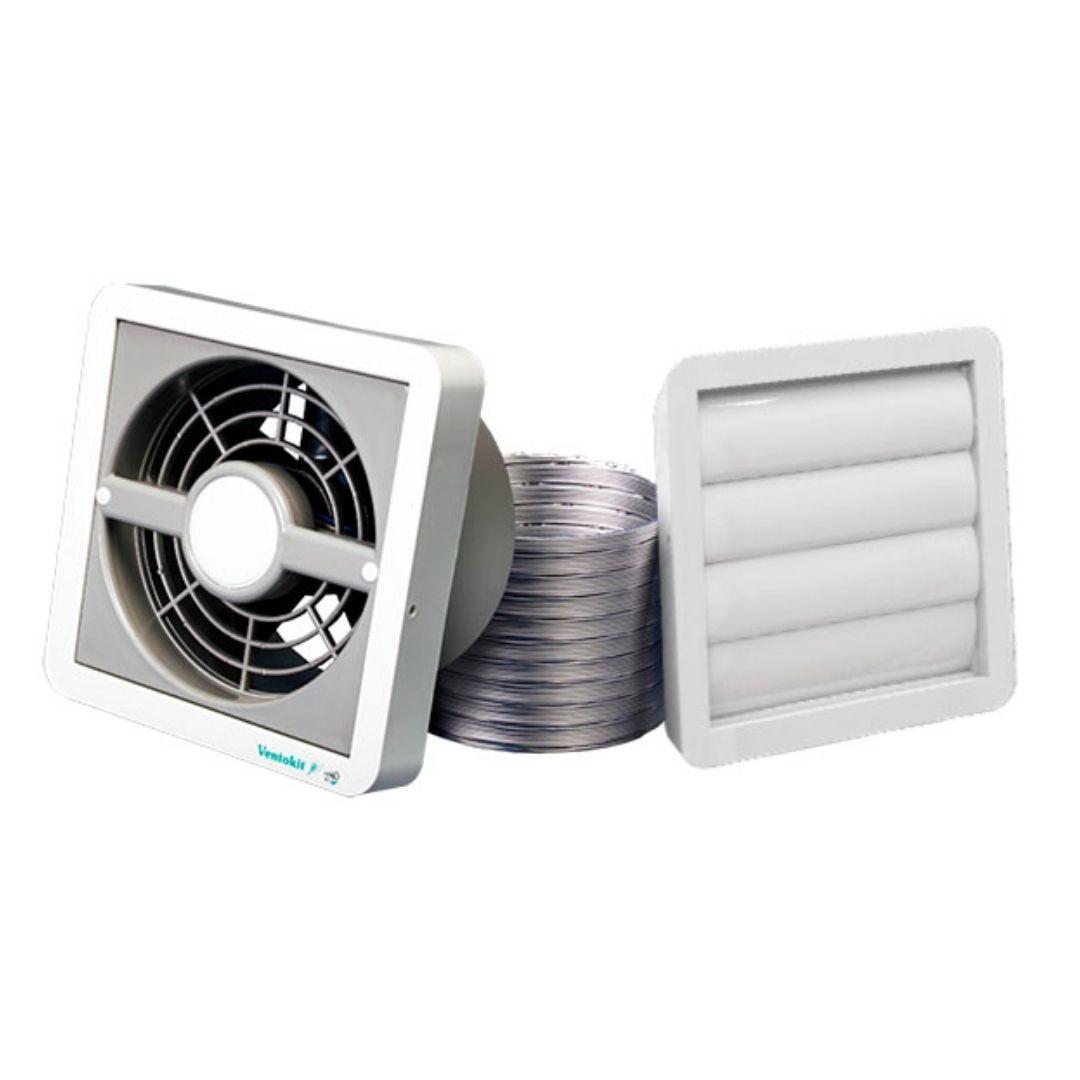 Exaustor / Renovador de Ar Completo 150 Bivolt Ventokit