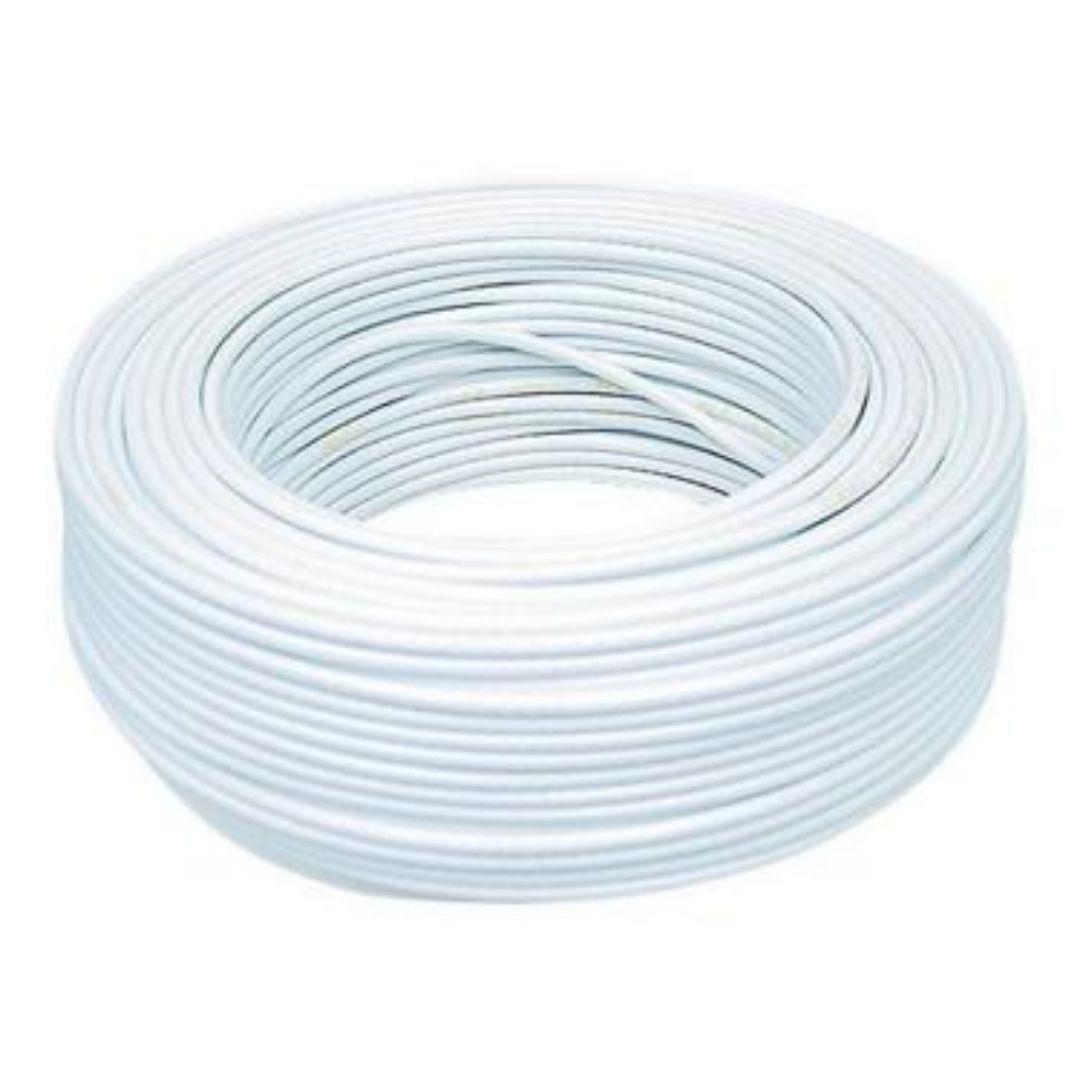 Fio Cabo Flexível 1,5mm Sil Flexsil O Melhor C/ 1m - Branco