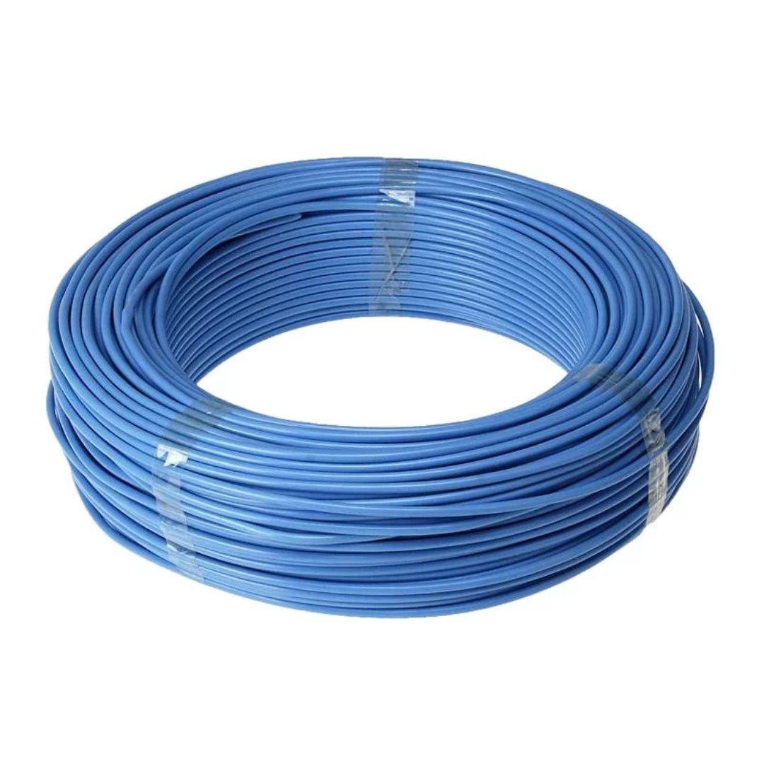 Fio Cabo Flexível 2,5mm Sil Flexsil O Melhor C/ 1m - Azul