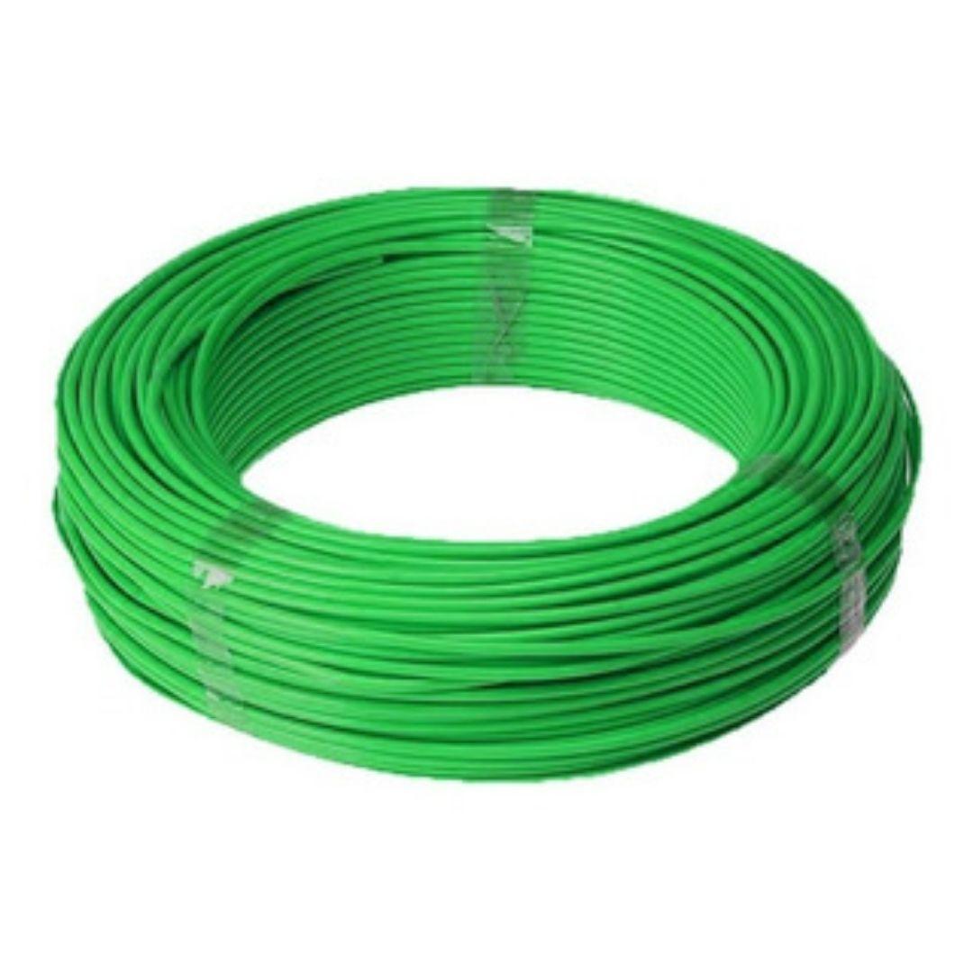 Fio Cabo Flexível 2,5mm Sil Flexsil O Melhor C/ 1m - Verde