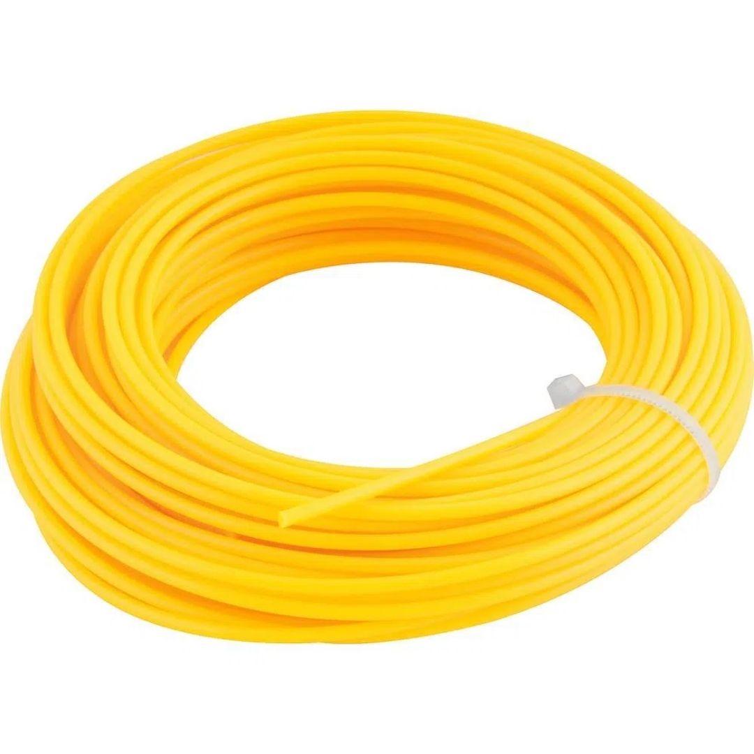 Fio de Nylon Amarelo 2,4mm x 10m Ref: E17R2 Vonder
