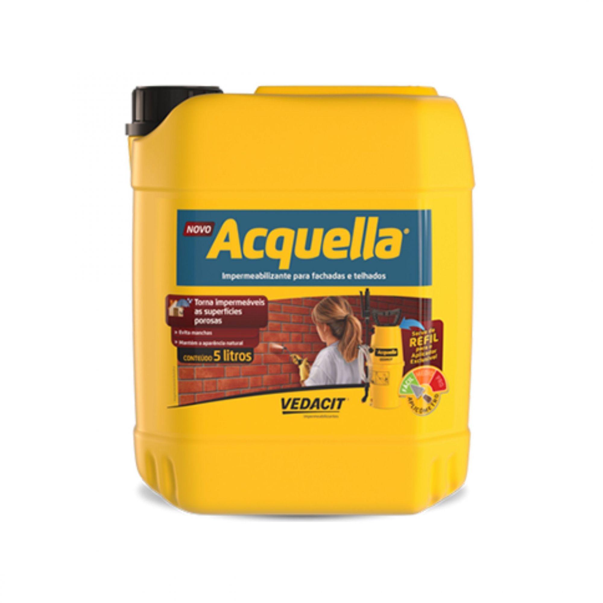 Impermeabilizante Acquella Bombona 5 Litros Vedacit