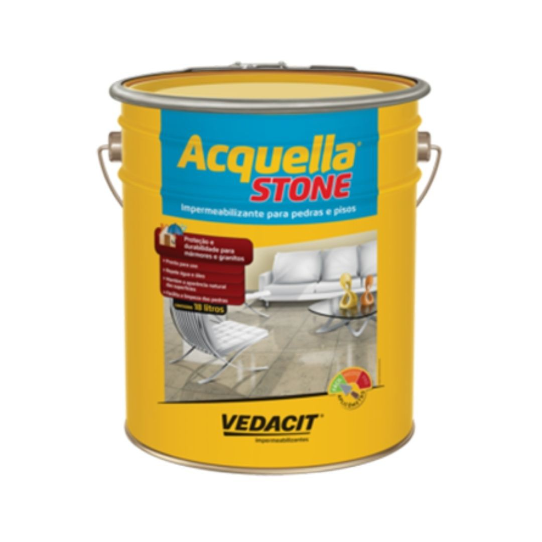 Impermeabilizante Acquella Stone 18 Litros Vedacit