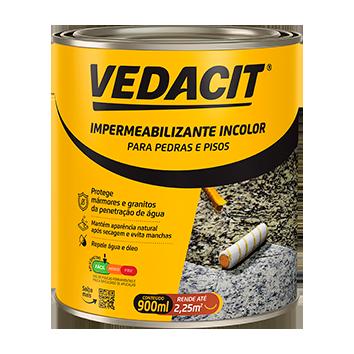 Impermeabilizante Incolor Acquella Stone 900ml Vedacit