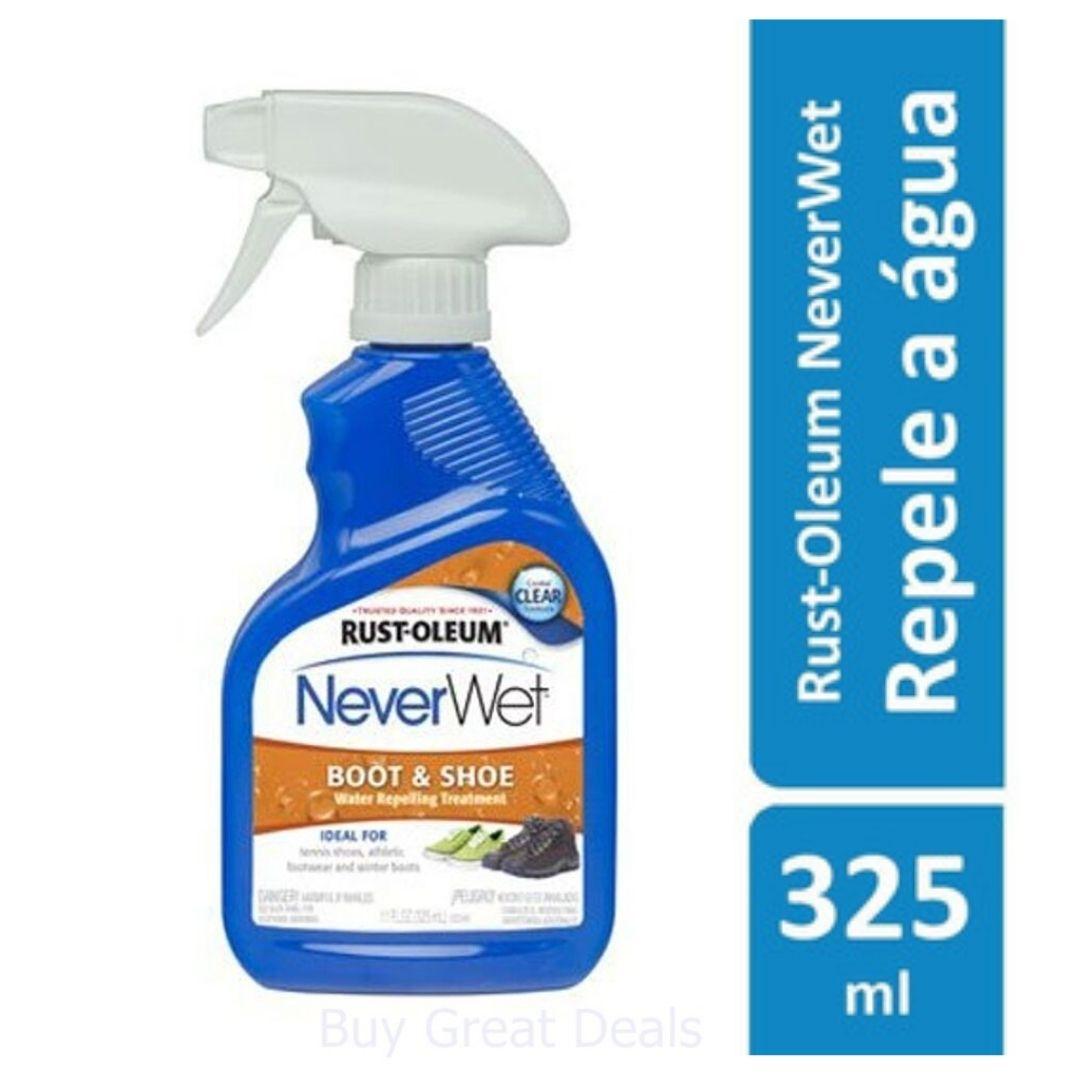 Impermeabilizante para Sapatos e Botas Transparente 325ml NeverWet Rust Oleum