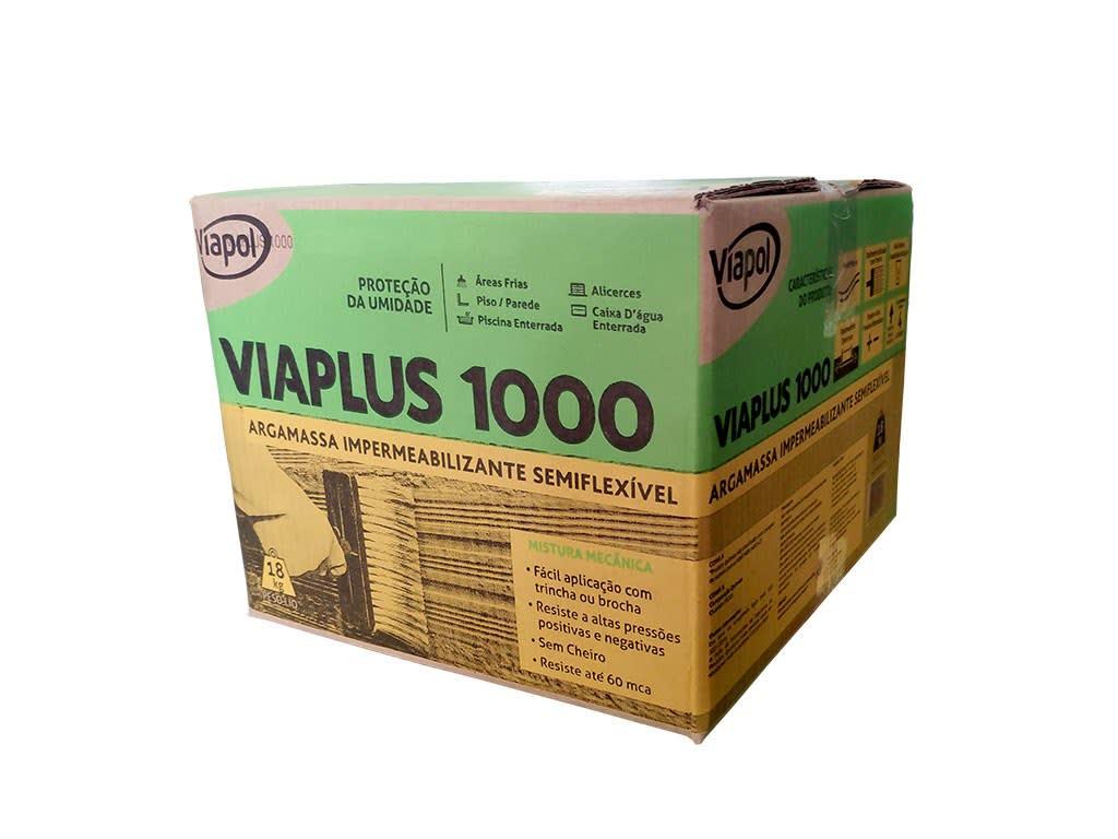 Impermeabilizante Viaplus 1000 18kg Viapol