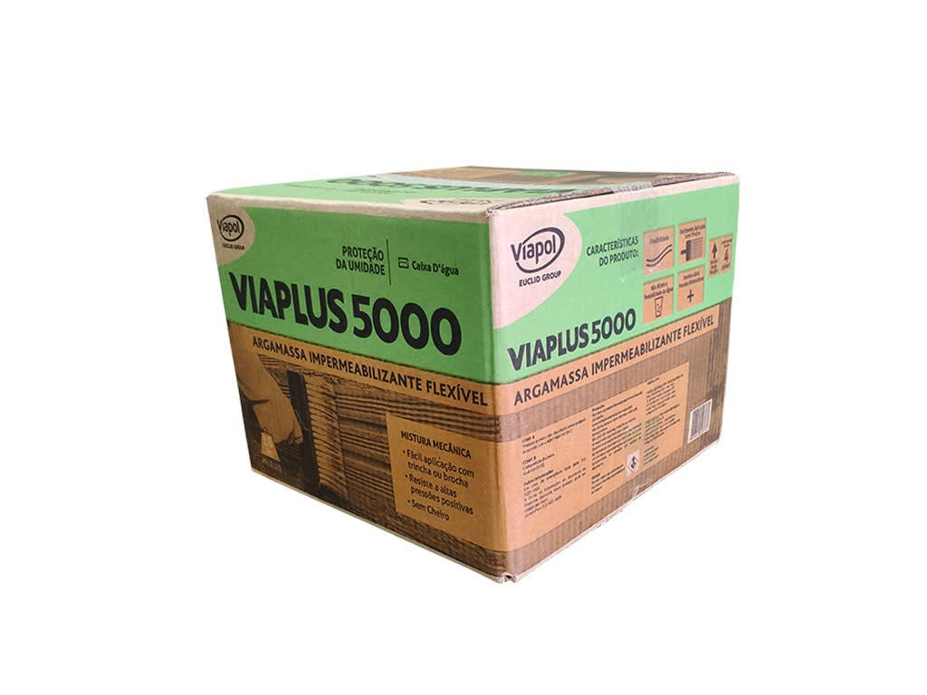 Impermeabilizante Viaplus 5000 18kg Viapol