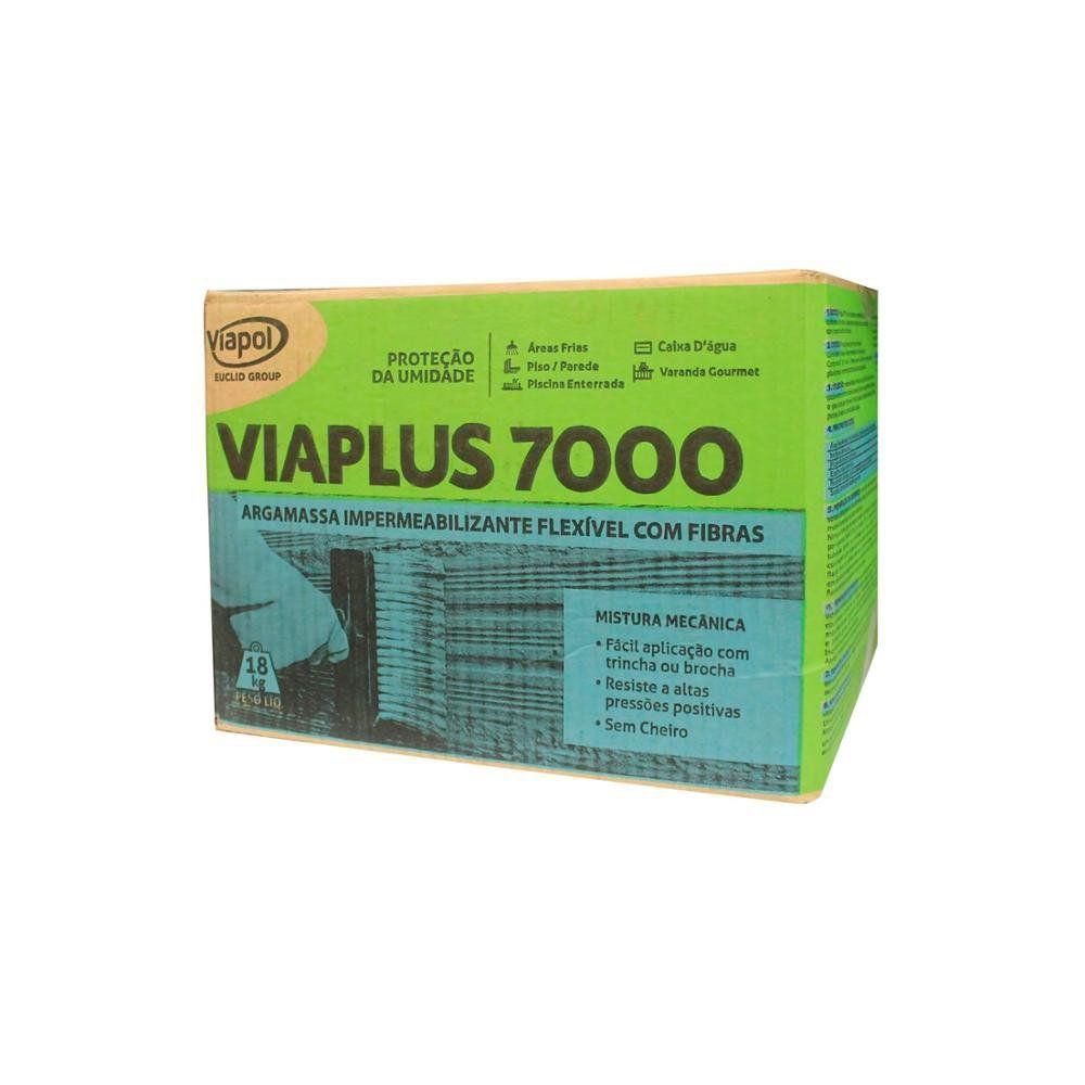 Impermeabilizante Viaplus 7000 18kg Viapol