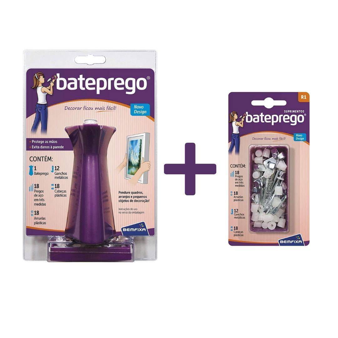 Kit Bate Prego + Suprimentos Bemfixa