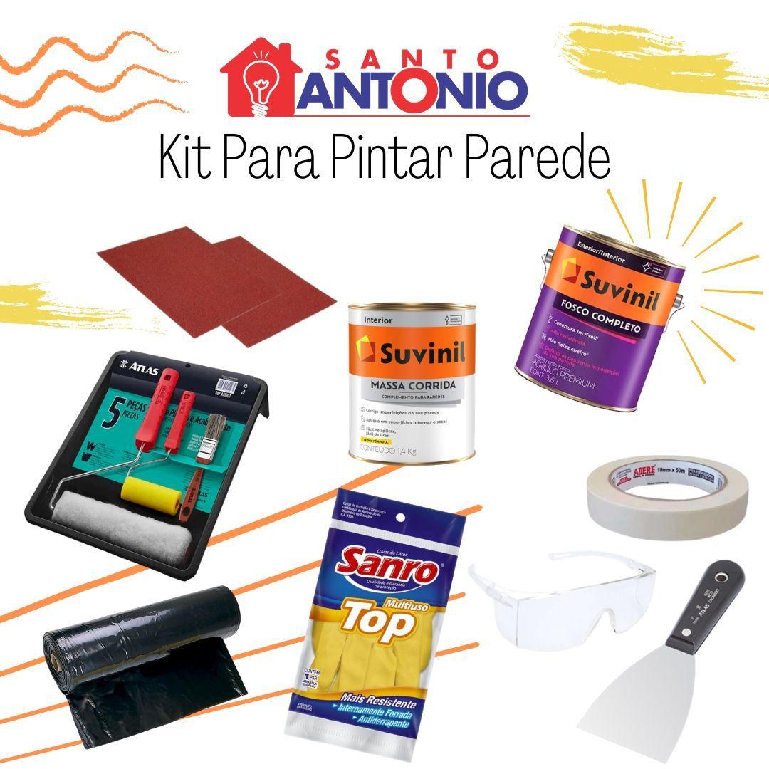 Kit Para Pintar Parede Completo Suvinil