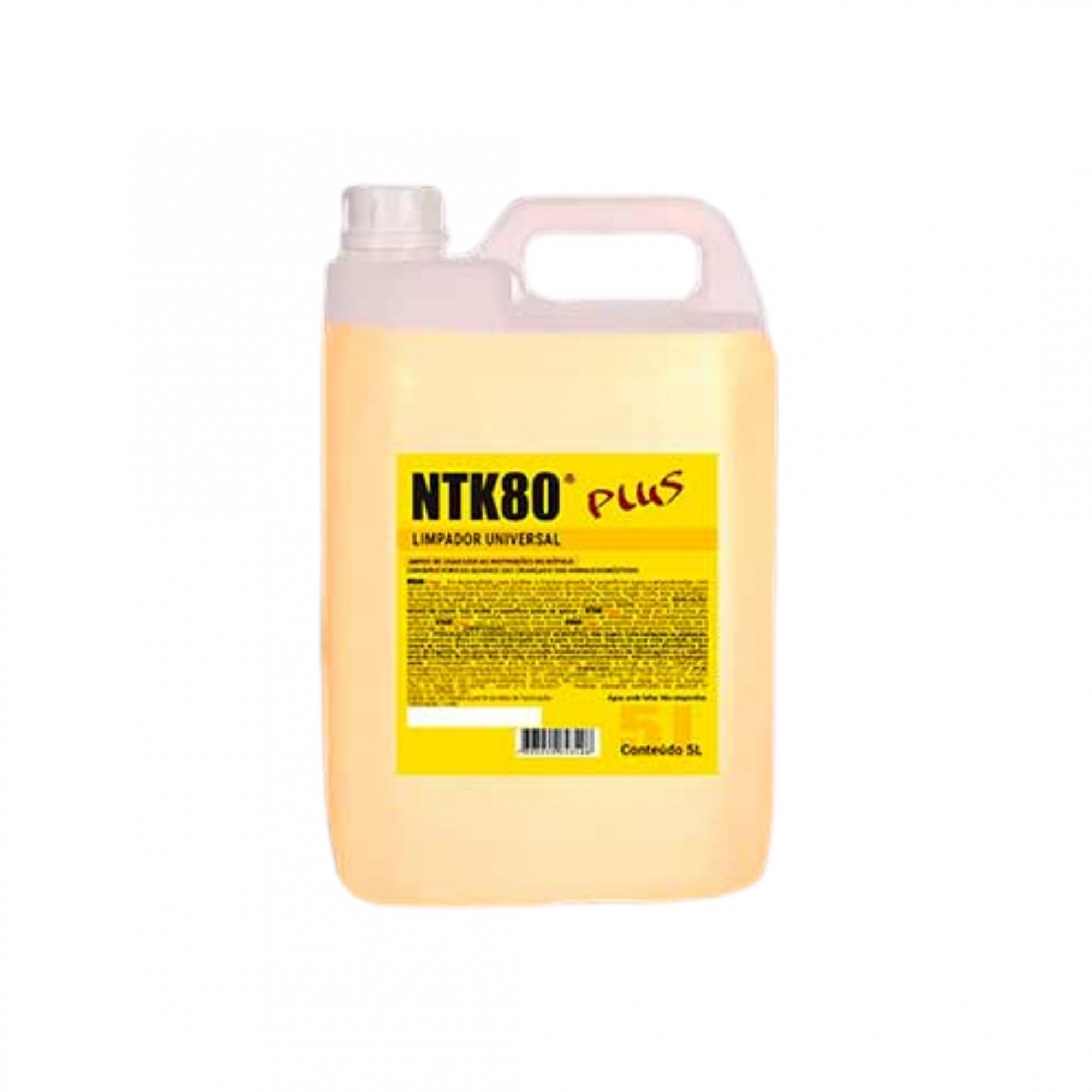 Limpador Universal NTK80 Plus 5 Litros Spray
