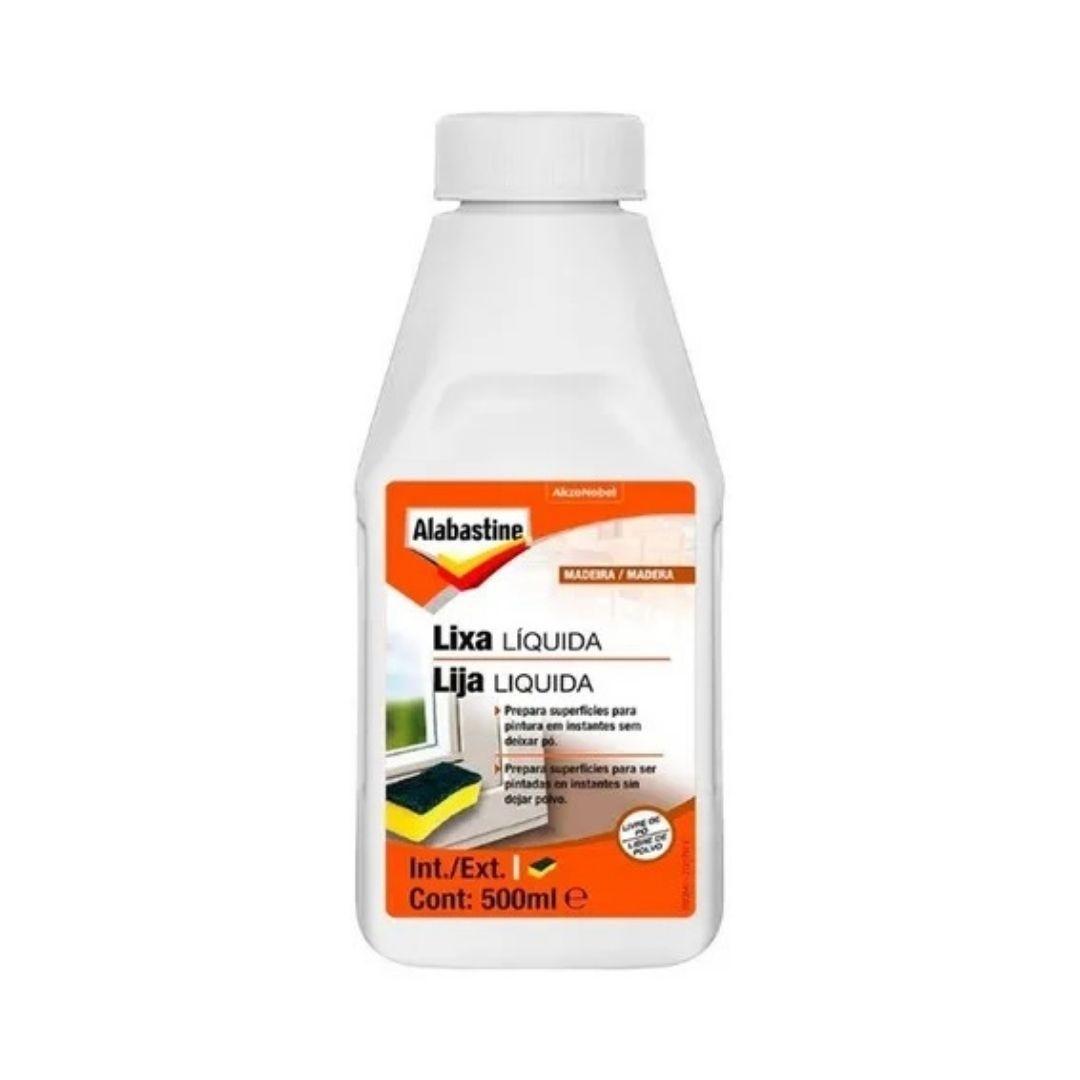 Lixa Líquida Alabastine 500ml