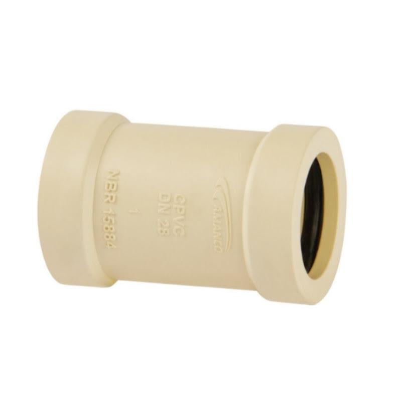 Luva de Correr Super CPVC 35mm Amanco