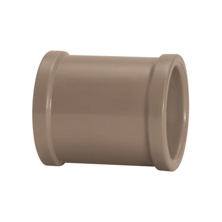 Luva PVC Marrom Soldável Amanco