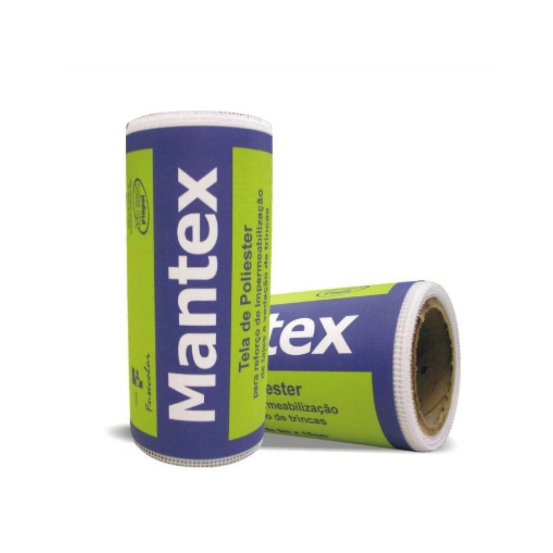 Tela de Poliéster Para Impermeabilização 0,50x50m Mantex Viapol