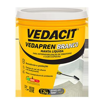 Manta Liquida Vedapren Branco 1,2kg Vedacit