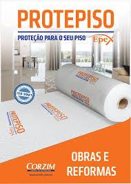 Manta Protetora de Piso em Polietileno Expandido 2mm 1,20x25m 30m² Protepiso