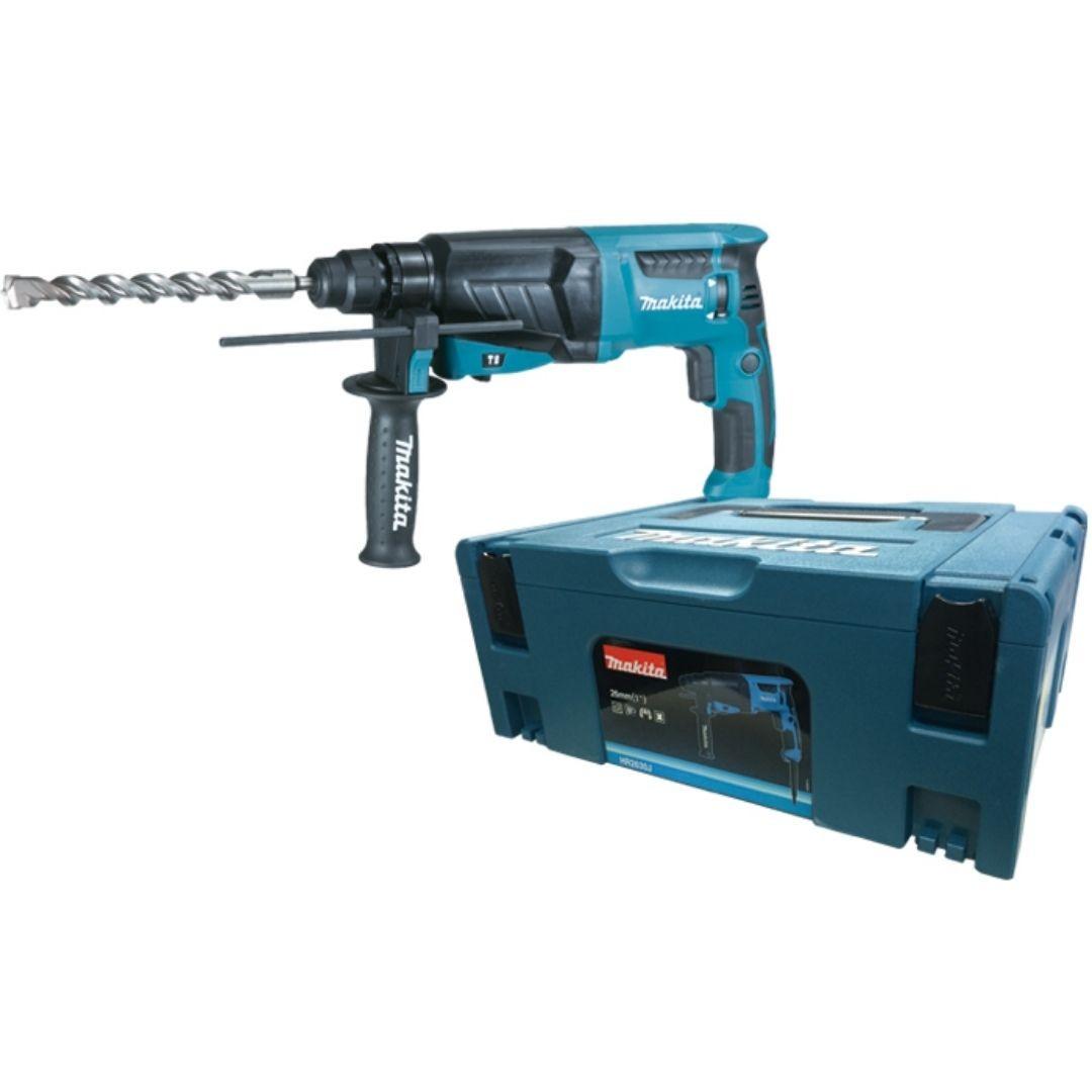 Martelete Perfurador e Rompedor 830 Watts HR2630J Makita