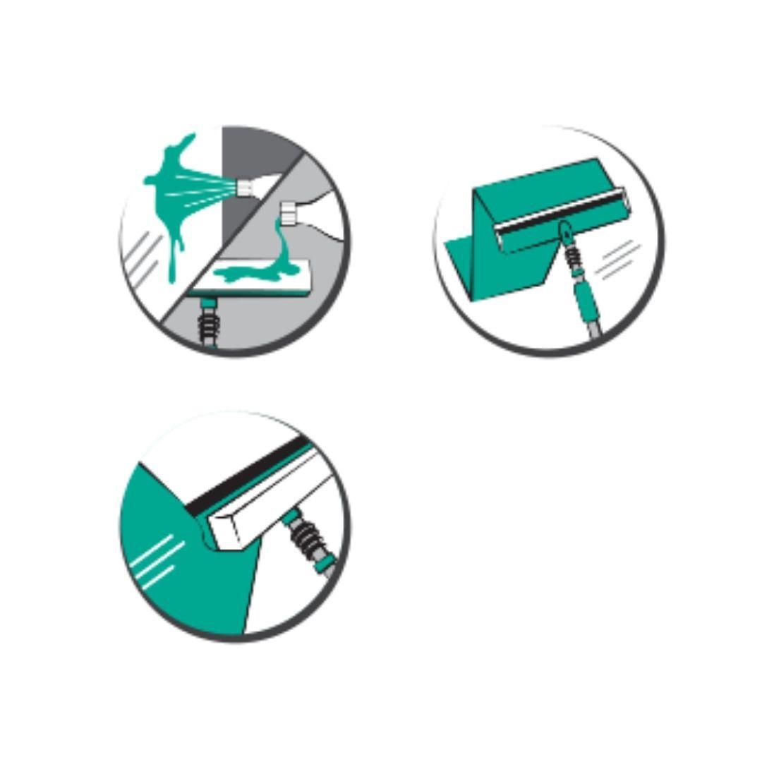 Mop Limpa Vidros Noviça 2 em 1 Bettanin