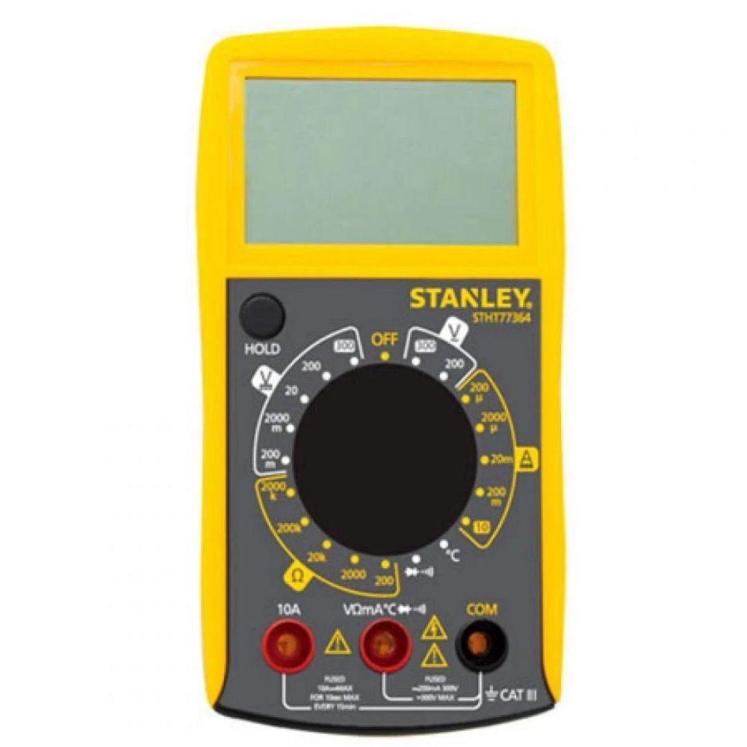 Multímetro Digital com Sensor e Bateria Stanley
