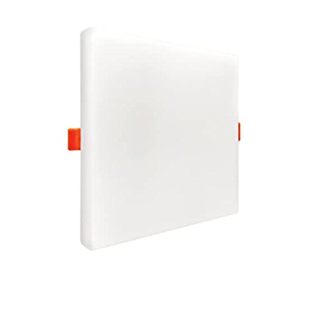 Painel Borda Infinita Led Branca 17w 2 Em 1 Quadrado Black Decker