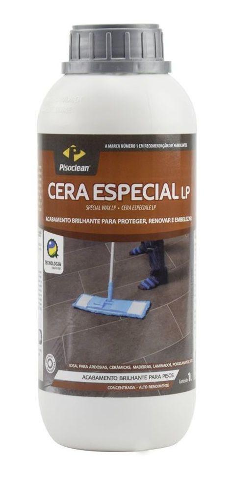 Cera Especial LP Proteção Para Pisos de Madeira 1 L Piso Clean