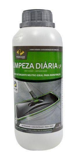 Detergente Limpeza Diária LP 1 litro PisoClean