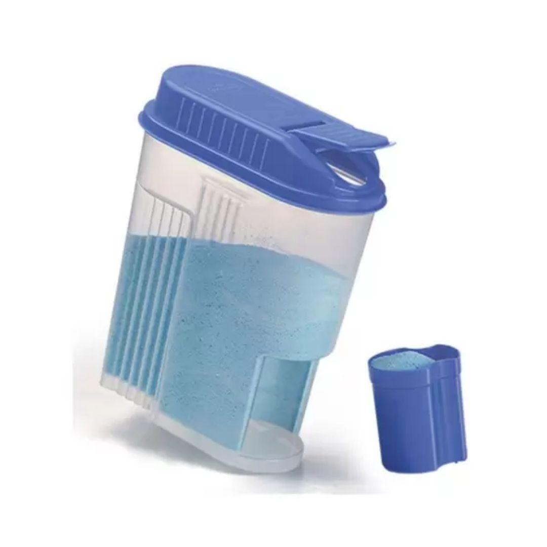 Porta Sabão em Pó com Dosador 1kg Nitron