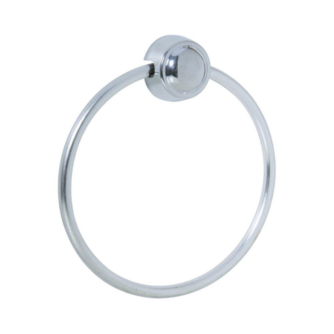 Porta - Toalha Argola Aluminio Ref: KBM/CAT Astra