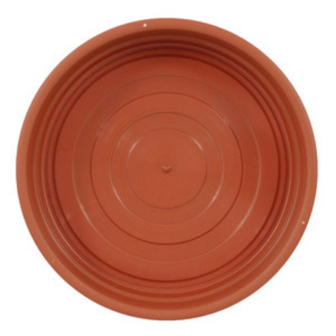 Prato para Planta Marrom 10cm Ref: PR6540-1 - Primafer